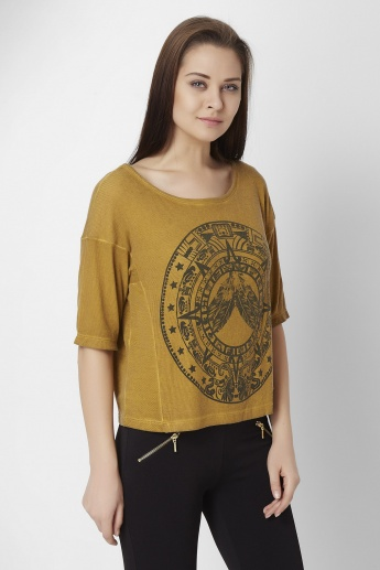 ONLY Drop Sleeves Printed Top