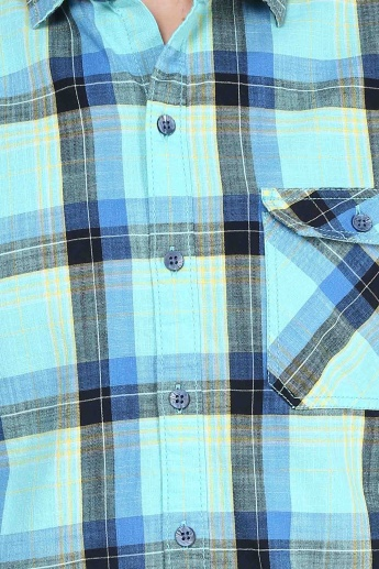FORCA Slim Fit Check Shirt