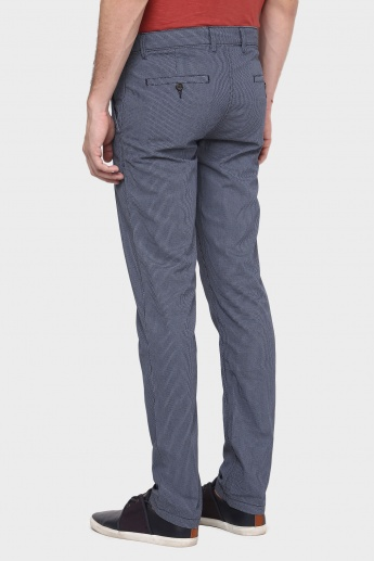 CODE Textured Casual Pants