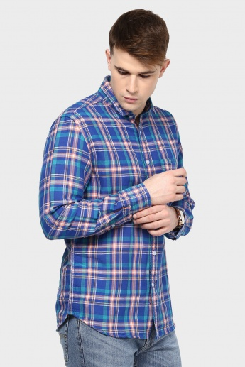 CODE Full Sleeves Check Shirt