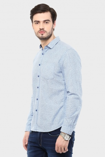 BOSSINI Printed Slim Fit Shirt