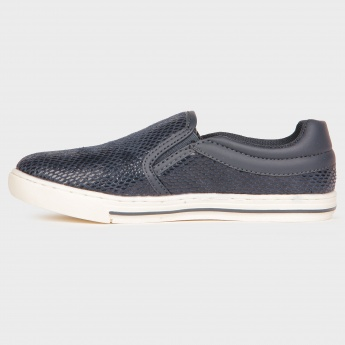 JUNIORS Mirror-Shine Plimsolls