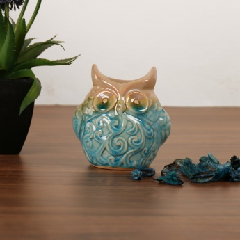 HOME CENTRE Cypress Owl Ceramic Oil Burner
