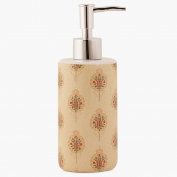 HOME CENTRE Hudson Printed Soap Dispenser