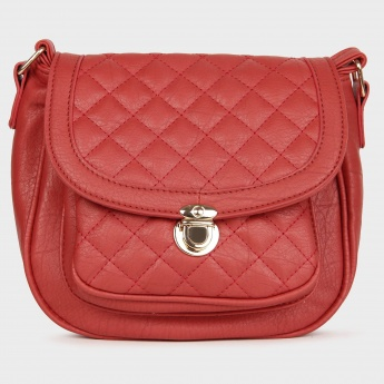 GINGER Quilted Top Sling Bag