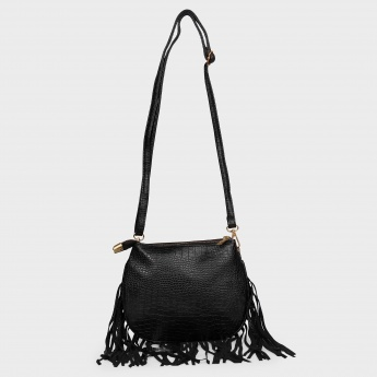 GINGER Fringed Trims Sling Bag | Sling Bags | Women Bags ...