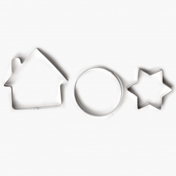HOME CENTRE Sweetshop Cookie Cutter- Set Of 3
