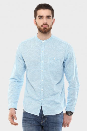 FORCA Chinese Collar Shirt