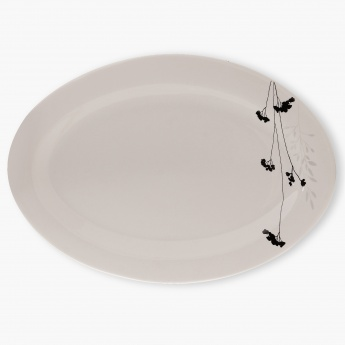HOME CENTRE Elite Oval Platter - 14 Inch