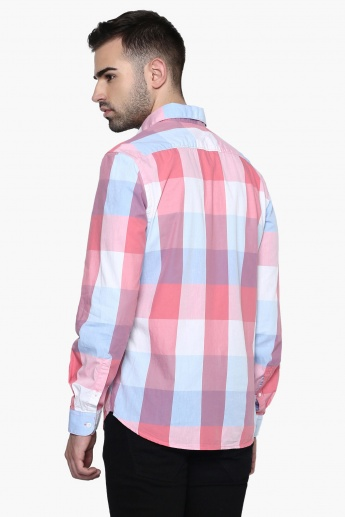 CODE Big Checks Casual Shirt