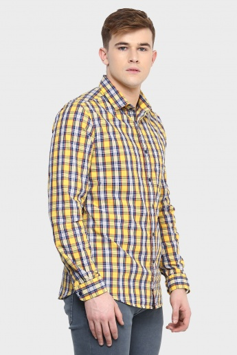 CODE Casual Plaid Checks Shirt