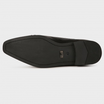 CODE Formal Cap Toe Slip Ons