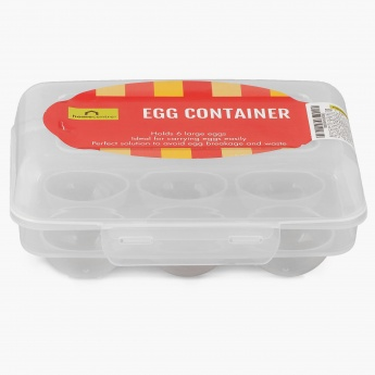 HOME CENTRE Sweetshop 6 Scoop Egg Carrier