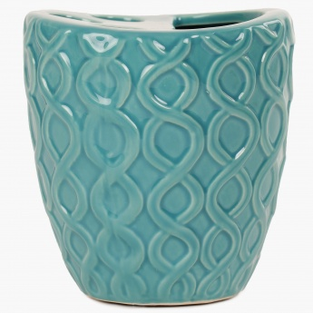 HOME CENTRE Hudson Embossed Tooth Brush Holder