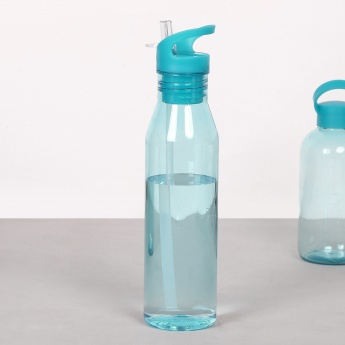 HOME CENTRE Bebida Water Bottle With Straw - 780 ml
