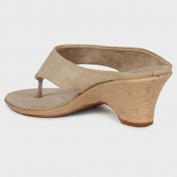 GINGER Shimmer Medium Heel Sandals