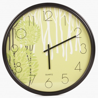 HOME CENTRE Casablanca Printed Wall Clock
