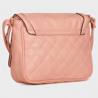 CODE Quilted Sling Bag