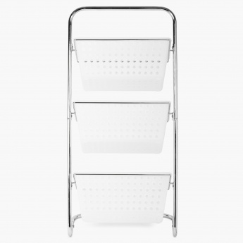 HOME CENTRE Stafford 3 Tier Kitchen Trolley