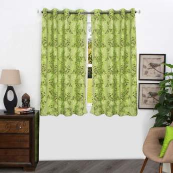 HOME CENTRE Matrix Vedanta Chenille Jacquard Window Curtain - 135 X 160 CM
