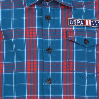 U.S. POLO ASSN. Full Sleeves Check Shirt