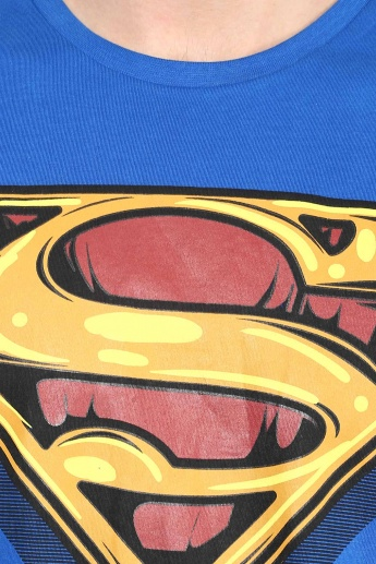 FREE AUTHORITY Superman Print T-Shirt