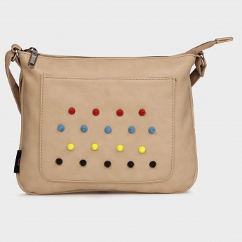 GINGER Studded Sling Bag