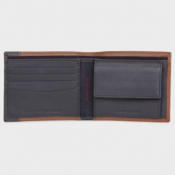 TOMMY HILFIGER Leather Coin Single Fold Wallet
