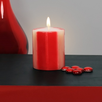HOME CENTRE Redolance Chunky Pillar Candle