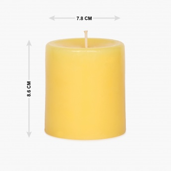 HOME CENTRE Redolance Pillar Candle - 8.5 CM