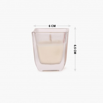 HOME CENTRE Serene Shot Glass Votive Candle- Set Of 4 - 6 CM