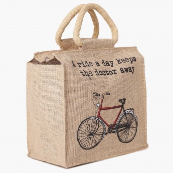 HOME CENTRE Livia Reusable Jute Bag