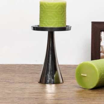 HOME CENTRE Splendid Curved Pillar Candle Holder