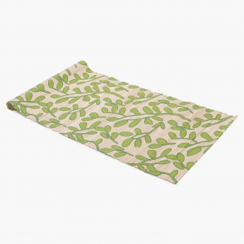 HOME CENTRE Meadows Printed Straw Runner - 120 X 33 CM
