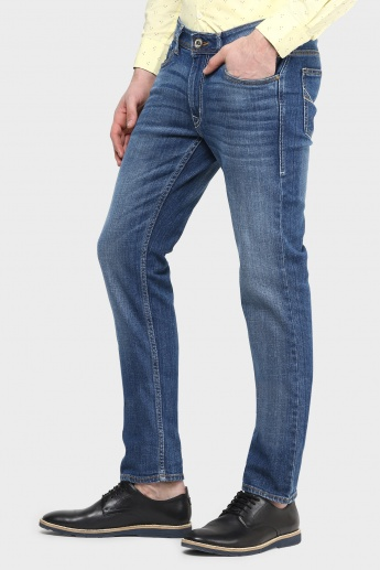 FLYING MACHINE Whiskered Jeans