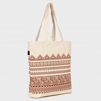GINGER Block Print Tote Bag