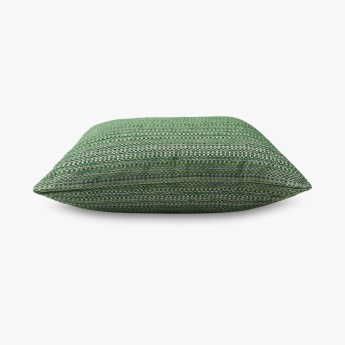 HOME CENTRE Gala Melange Textured Cushion Cover - Set of 2