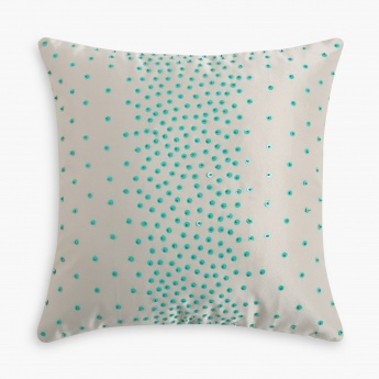 HOME CENTRE Gala Sequinned Cushion Cover - Set of 2