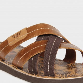 RED TAPE Cross-Over Straps Sandals