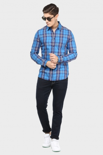 JACK & JONES Slim Fit Check Shirt