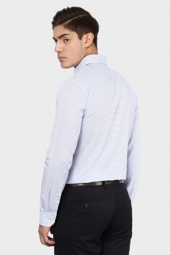 JACK & JONES Textured Full Sleeves Shirt
