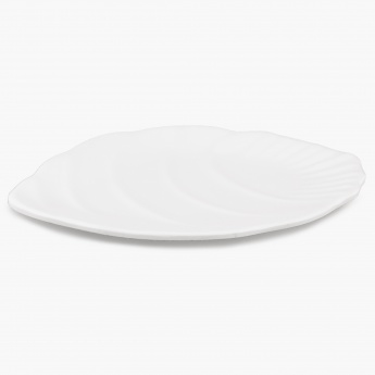 HOME CENTRE Silvano Palm Platter - 10 Inch