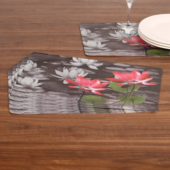 HOME CENTRE Atlantis Printed Place Mat- Set Of 6 - 43 X 28 CM