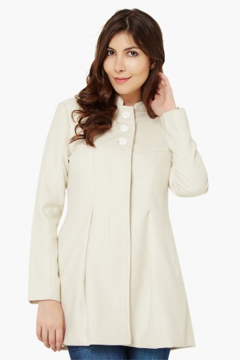 CODE Band Collar Coat