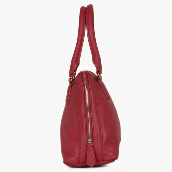 GINGER Pebble Finish Handbag