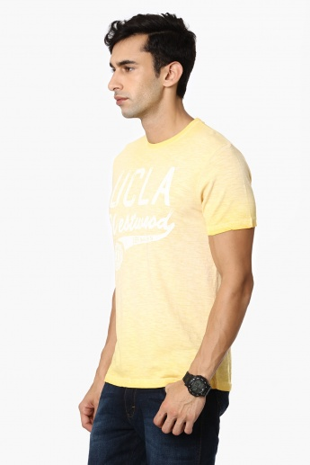UCLA Chest Imprint Crew Neck T-Shirt