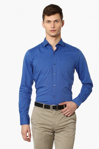 CODE Solid Slim Fit Formal Shirt