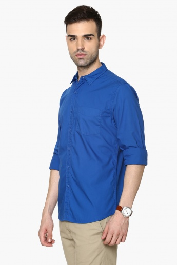 FAME FOREVER Full Sleeves Slim Fit Shirt