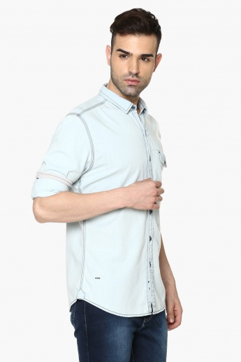 FORCA Full Sleeves Slim Fit Shirt