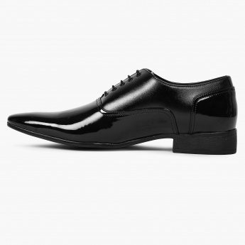 CODE Patent Finish Oxford Shoes